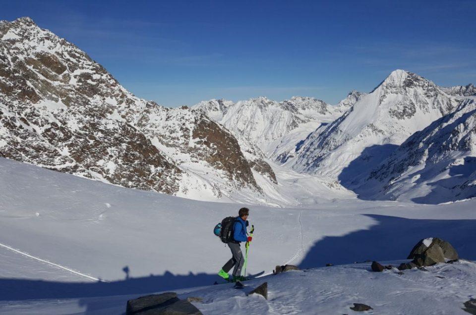 Eerste skitour