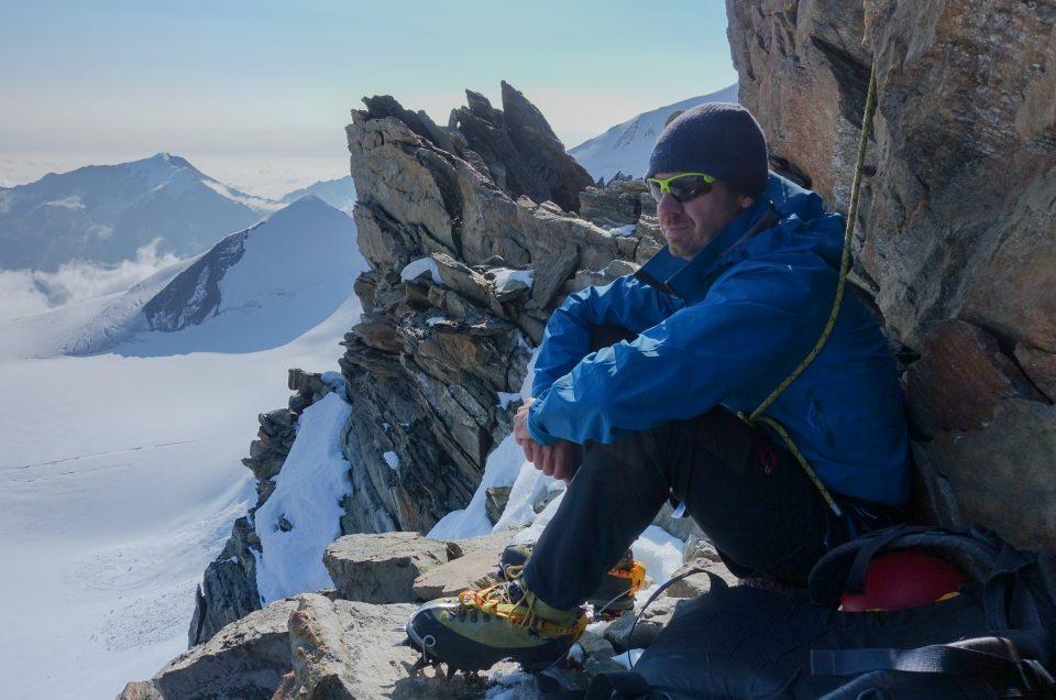 Beklimming Dirrunhorn 4035m