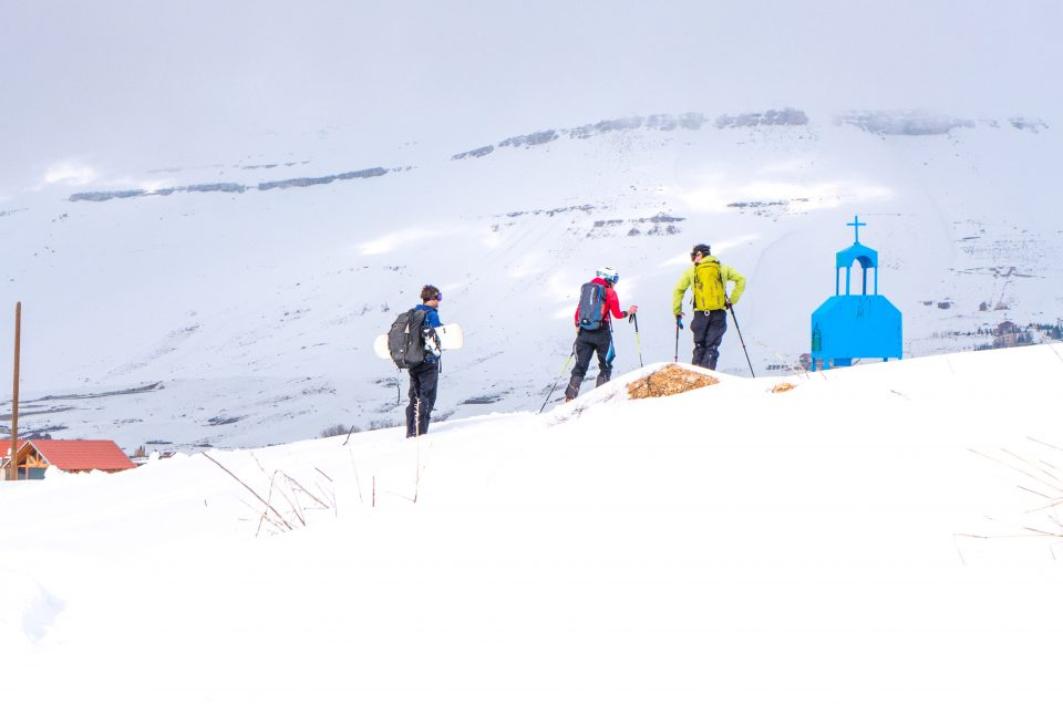 Libanon Skitour